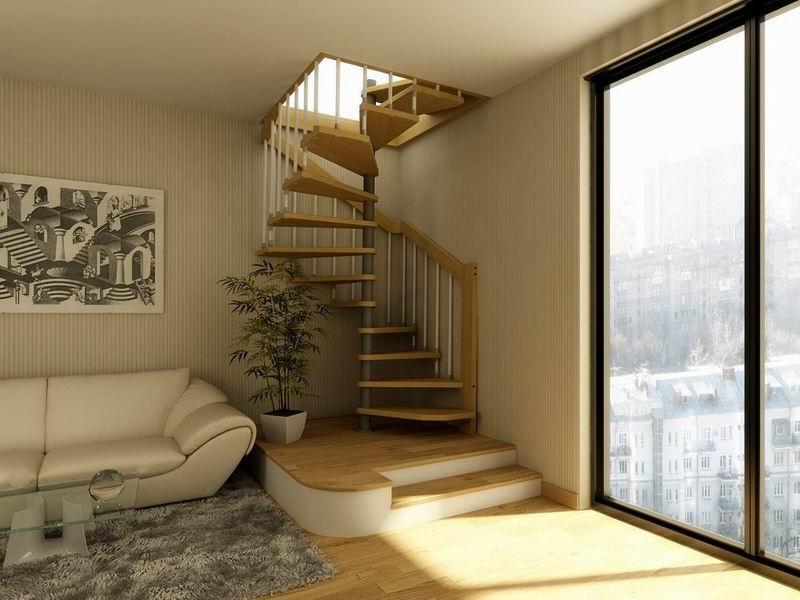 Лестница мансардная своими руками 35